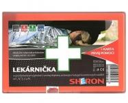 Sheron AUTO lékárnička oranžová