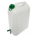 Kanystr na vodu s kohoutkem (plastový, 10l)