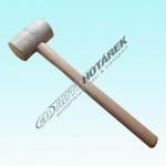Gumová palička 0,40 kg (bílá) - AKCE