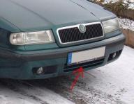 Zimní clona chladiče Škoda Felicia (dolní) ...