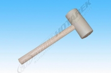 Gumová palička 0,80 kg (bílá)