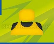 Potahy opěrek hlavy (žluté)