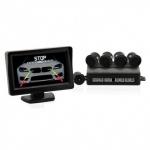 Parkovací senzory s kamerou a LCD displejem