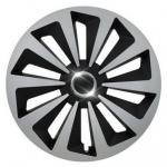 Poklice Fox Ring MIX Silver-Black - 14