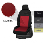 Přesné autopotahy Opel Vivaro 2014- (6 míst)
