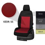 Přesné autopotahy Opel Vivaro 2014- (3 místa)